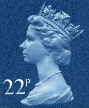 22p Discount GB Postage Stamp